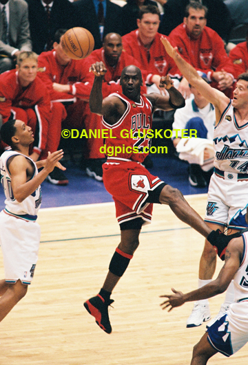 Michael Jordan '98 NBA Finals | DG Pics