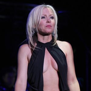 "Terri Nunn of Berlin performs at the Green Valley Resort in Henderson, Nevada on August 23, 2008. The American vocalist debuted songs from the bands upcoming release, its first since the covers album "" 4Play "" was released in 2005. (UPI Photo/Daniel Gluskoter)"