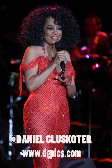 Diana Ross performs in Las Vegas in 2009.