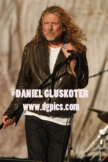 Robert Plant performs at Golden Gate Park in San Francisco in 2011.