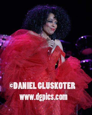 Diana Ross performs in Las Vegas in 2009.
